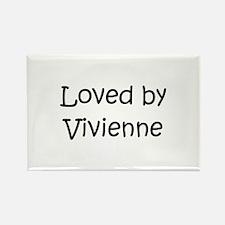 Cute Vivienne Rectangle Magnet
