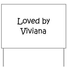 Cute Viviana Yard Sign