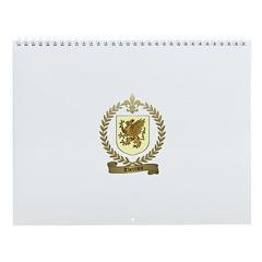 THERRIEN Family Crest Wall Calendar