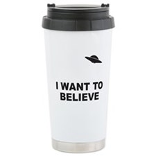 I Want To Believe Travel Mug