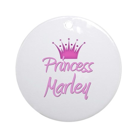 Princess Marley Ornament (Round)