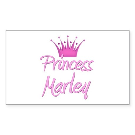 Princess Marley Rectangle Sticker