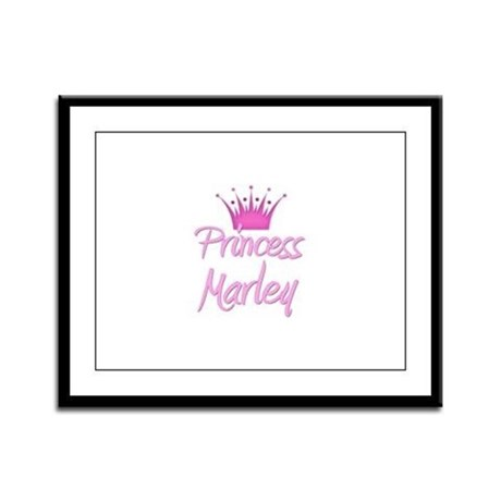Princess Marley Framed Panel Print