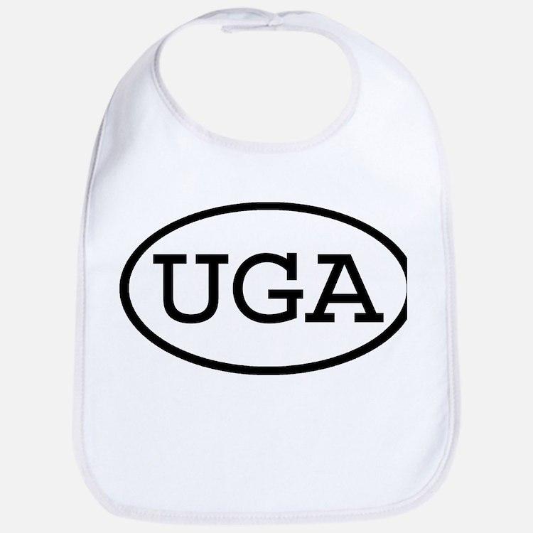 UGA Oval Bib