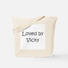 Unique Vicky Tote Bag
