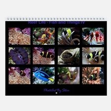 Fish and Things IV Wall Calendar