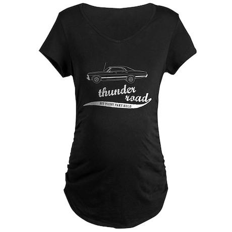 Thunder Road Impala Maternity Dark T-Shirt