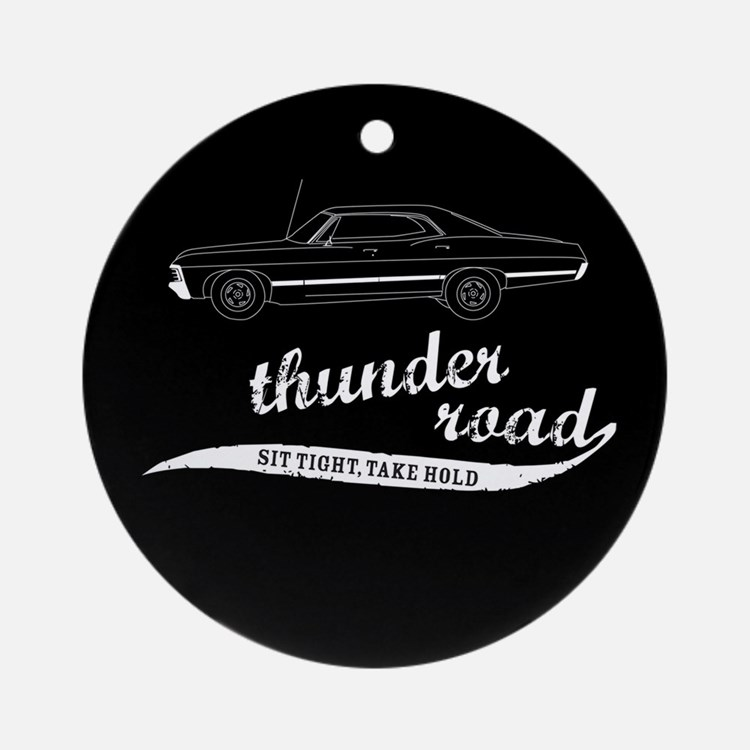 Thunder Road Impala Ornament (Round)