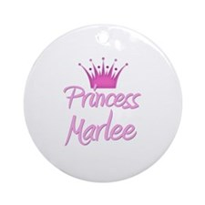 Princess Marlee Ornament (Round)