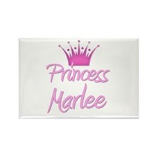 Princess Marlee Rectangle Magnet