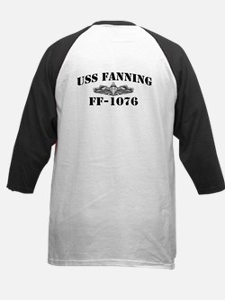 USS FANNING Kids Baseball Jersey