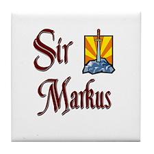 Sir Markus Tile Coaster
