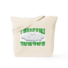 A Lot of Balls Tote Bag