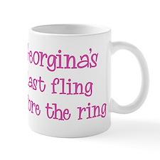 Georginas last fling Mug