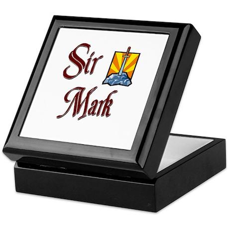 Sir Mark Keepsake Box