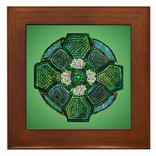 Connemara Cross Framed Tile