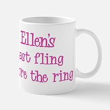 Ellens last fling Mug