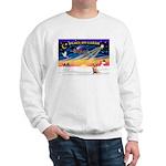 XmasSunrise/Chihuahua#6 Sweatshirt