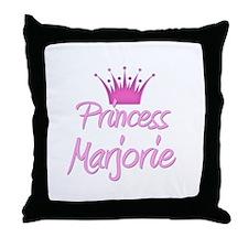 Princess Marjorie Throw Pillow