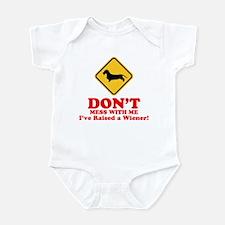 Dachshund Wirehaired Infant Bodysuit