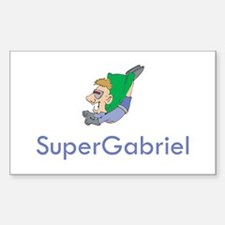 SuperGabriel Rectangle Decal