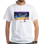 XmasSunrise/Chihuahua #5 White T-Shirt