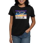 XmasSunrise/Chihuahua #5 Women's Dark T-Shirt