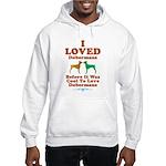 Doberman Pinscher Hooded Sweatshirt