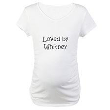 Cute Whitney Shirt