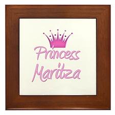 Princess Maritza Framed Tile
