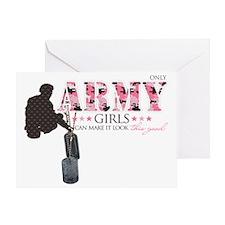 Army Girls (Make It Look Good) Greeting Card