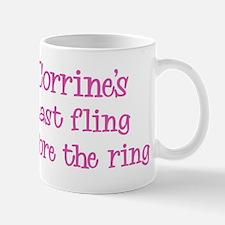 Corrines last fling Mug