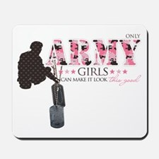 Army Girls (Make It Look Good) Mousepad
