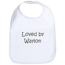 Cute Waylon Bib