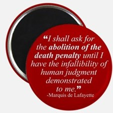 Abolish death penalty. Magnet