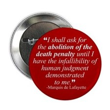 Abolish death penalty. Button