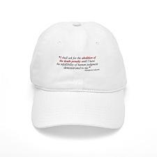 Abolish death penalty. Baseball Cap