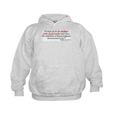 Abolish death penalty. Kids Hoodie
