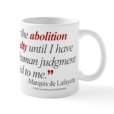 Abolish death penalty. Mug