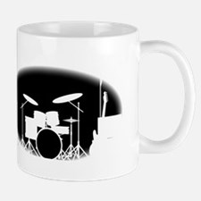 Black And White Rock Band Poster Mugs