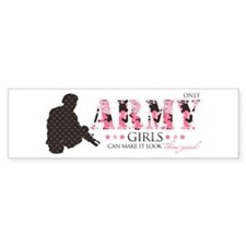 Army Girls (Make It Look Good) Bumper Bumper Sticker