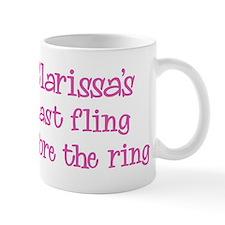 Clarissas last fling Mug