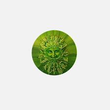 The Greenman Mini Button