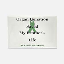Brother Transplant Rectangle Magnet