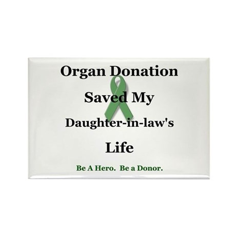 Daughter-in-law Transplant Rectangle Magnet (10 pa