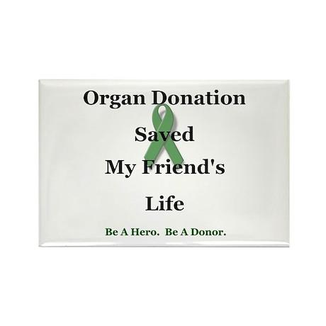 Friend Transplant Rectangle Magnet