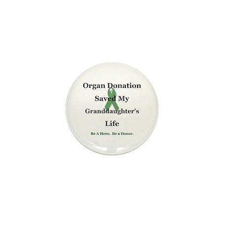 Granddaughter Transplant Mini Button (10 pack)