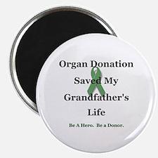 "Grandfather Transplant 2.25"" Magnet (10 pack)"