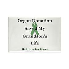 Grandson Transplant Rectangle Magnet (10 pack)