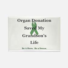 Grandson Transplant Rectangle Magnet
